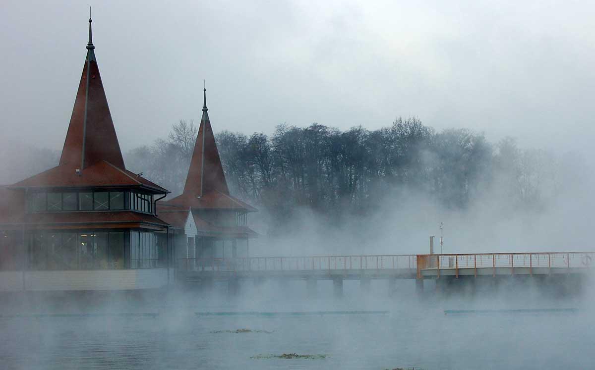 Hevizer See im Winter