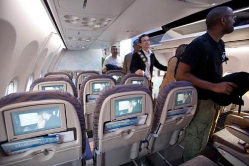 Как выбрать лучшее место в самолете?