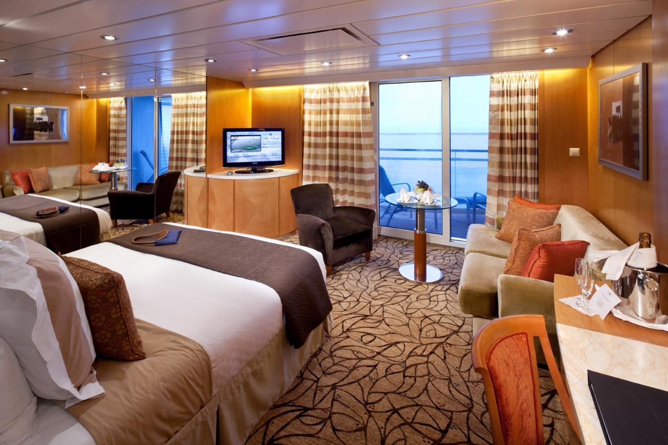 Sky Suite - Celebrity Constellation - Celebrity Cruises